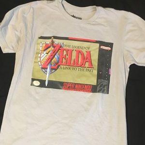 legend of zelda link to the past shirt SNES